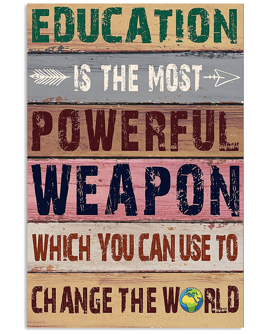 EDUCATION 11x17 Poster