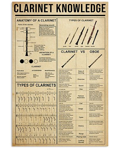 CLARINET KNOWLEDGE