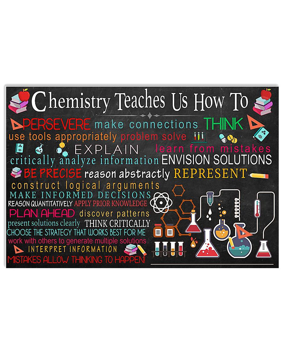 CHEMISTRY 17x11 Poster