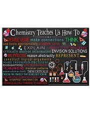CHEMISTRY 17x11 Poster front