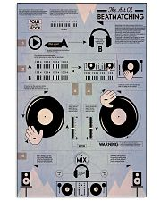 poster-DJ 11x17 Poster front