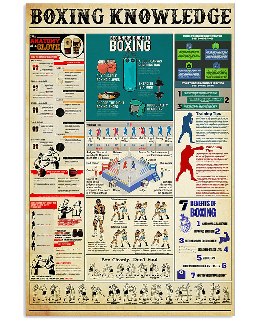 BOXING 11x17 Poster