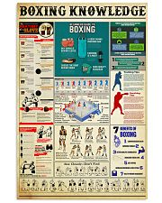 BOXING 11x17 Poster front