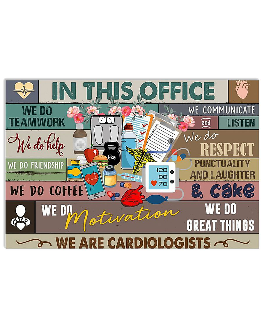 CARDIOLOGISTS 17x11 Poster