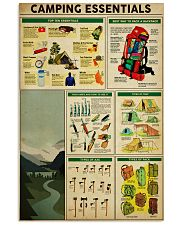 camping 24x36 Poster front