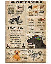 LABRADOR RETRIEVER 11x17 Poster front