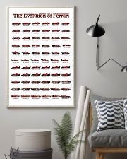 THE EVOLUTION OF FERRARI 24x36 Poster lifestyle-poster-1