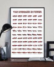 THE EVOLUTION OF FERRARI 24x36 Poster lifestyle-poster-2