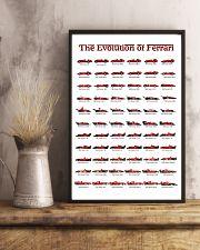 THE EVOLUTION OF FERRARI 24x36 Poster lifestyle-poster-3