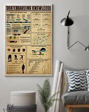 SKATEBOARDING KNOWLEDGE 24x36 Poster lifestyle-poster-1