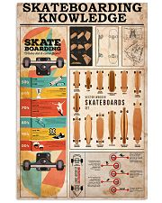 SKATEBOARDING KNOWLEDGE 24x36 Poster front