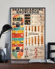 SKATEBOARDING KNOWLEDGE 24x36 Poster lifestyle-poster-2