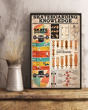 SKATEBOARDING KNOWLEDGE 24x36 Poster lifestyle-poster-3