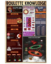 ROULETTE  24x36 Poster front
