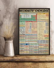 BIOCHEMISTRY KNOWLEDGE 11x17 Poster lifestyle-poster-3