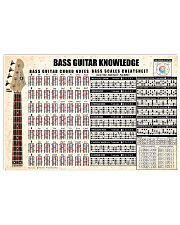 BASS GUITAR KNOWLEDGE 17x11 Poster front