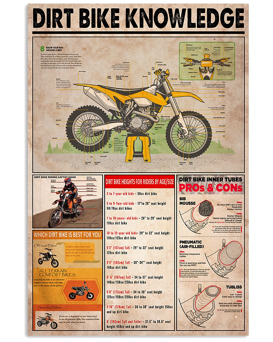 DIRT BIKE 24x36 Poster