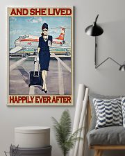 Flight Attendant Poster 24x36 Poster lifestyle-poster-1