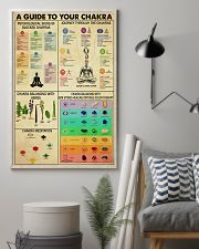 A GUIDE TO YOUR CHAKRA 11x17 Poster lifestyle-poster-1