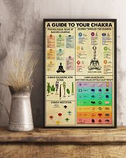 A GUIDE TO YOUR CHAKRA 11x17 Poster lifestyle-poster-3