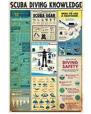 SCUBA DRIVE 24x36 Poster front