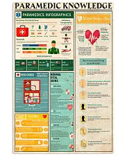 PARAMEDIC KNOWLEDGE 24x36 Poster front