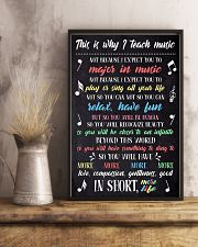 TEACH MUSIC 11x17 Poster lifestyle-poster-3
