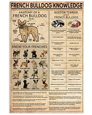 FRENCH BULLDOG 11x17 Poster front