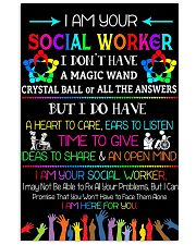 SOCIAL WORKER 11x17 Poster front