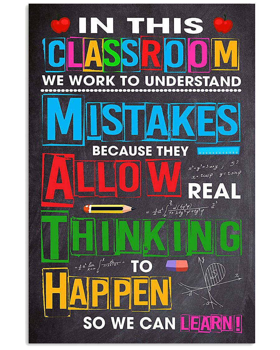 CLASSROOM 11x17 Poster