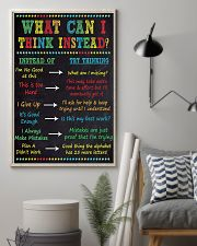 WHAT CAN I THINK INSTEAD 11x17 Poster lifestyle-poster-1