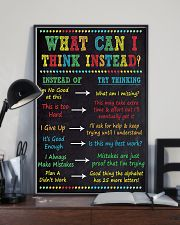 WHAT CAN I THINK INSTEAD 11x17 Poster lifestyle-poster-2