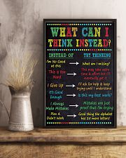 WHAT CAN I THINK INSTEAD 11x17 Poster lifestyle-poster-3