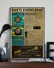 DARTS KNOWLEDGE 24x36 Poster lifestyle-poster-2
