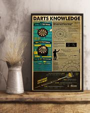 DARTS KNOWLEDGE 24x36 Poster lifestyle-poster-3