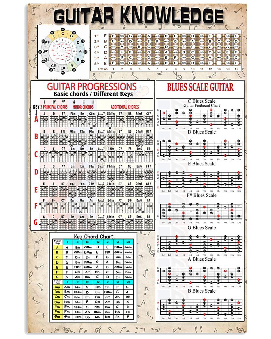 Guitar 11x17 Poster