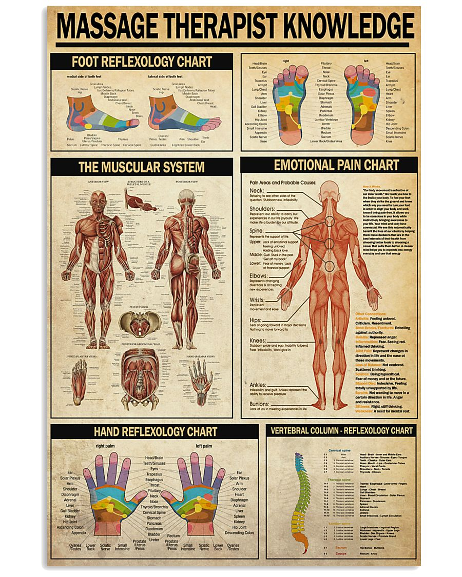 masage therapist 24x36 Poster