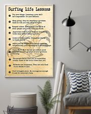 SURFING LIFE LESSONS 24x36 Poster lifestyle-poster-1