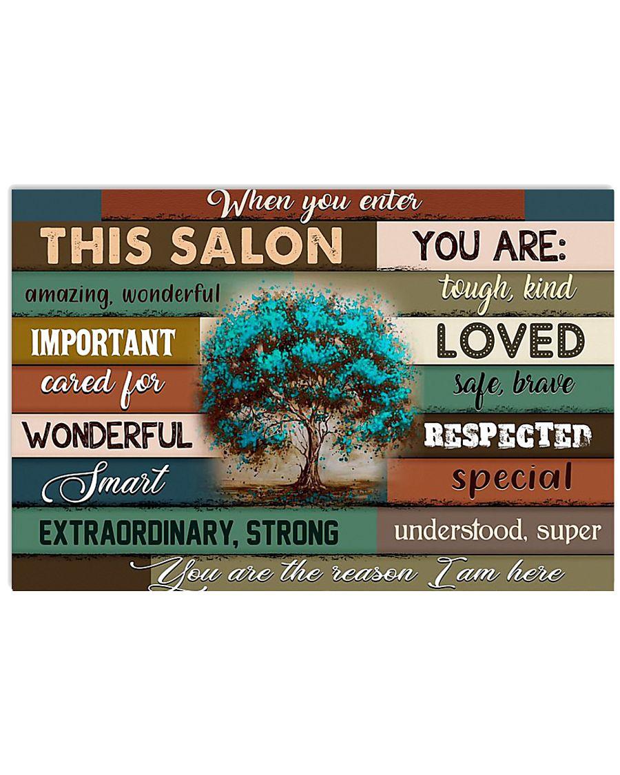 SALON 17x11 Poster