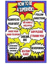 HOW TO BE A SUPERHERO 11x17 Poster front