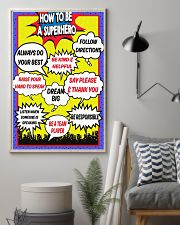 HOW TO BE A SUPERHERO 11x17 Poster lifestyle-poster-1