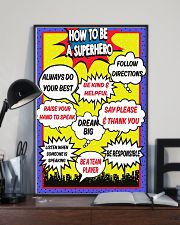HOW TO BE A SUPERHERO 11x17 Poster lifestyle-poster-2