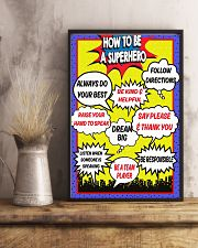 HOW TO BE A SUPERHERO 11x17 Poster lifestyle-poster-3