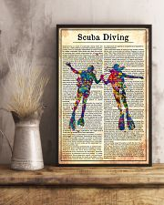 SCUBA DRIVE 24x36 Poster lifestyle-poster-3