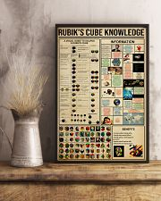 RUBIK'S CUBE KNOWLEDGE 24x36 Poster lifestyle-poster-3