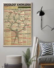 SOCIOLOGY KNOWLEDGE 24x36 Poster lifestyle-poster-1