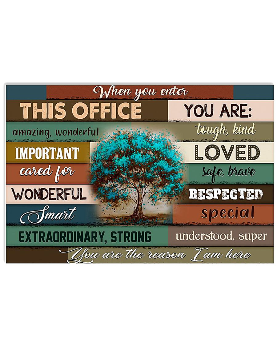 THIS OFFICE 17x11 Poster