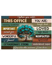 THIS OFFICE 17x11 Poster front