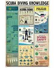SCUBA DIVING 24x36 Poster front