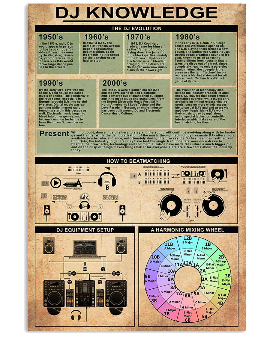 DJ 24x36 Poster
